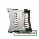 Коннектор MMC Alcatel OT-4007D/OT-890D/OT-665/OT-7025D/OT-4010D/OT-4030D/OT-5020D
