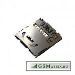 Коннектор MMC Alcatel OT-7047D/OT-6030/OT-8000D/OT-8008D/OT-6037Y/OT-6036Y/OT-6050Y