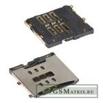 Коннектор SIM iPhone 4/4S