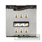 Коннектор SIM iPhone 5S