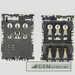 Коннектор SIM HTC Desire 820