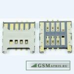 Коннектор SIM LG E400/E405/E430/E435