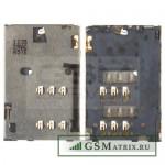Коннектор SIM Nokia C2-03/C2-06/C2-08/X2-02/C2-00