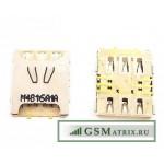 Коннектор SIM Samsung G850F