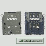 Коннектор SIM Samsung G920F/G925F (S6/S6 Edge)