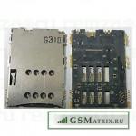 Коннектор SIM Samsung P1000/P3100/P6200