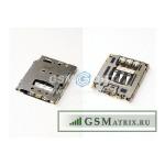 Коннектор SIM Sony D5103 (T3)