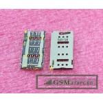 Коннектор SIM Sony E6533 (Z3+ Dual)