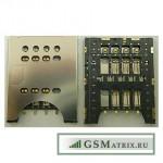Коннектор SIM Sony MT27i/MK16i/ST18i/ST26i/ST23i/IQ441/IQ446