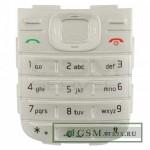 Клавиатура Nokia 1200 Серебро