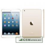 Задняя крышка iPad Air 2 Золото WiFi+Cellular