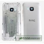 Задняя крышка HTC One/M9 Серебро
