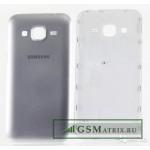 Задняя крышка Samsung G360H Серебро