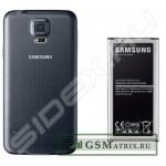 Задняя крышка Samsung G900/S5 Черный