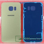 Задняя крышка Samsung G925F/S6 Edge Золото
