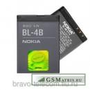 АКБ Nokia BL-4B ( 6111/2630/2660/2760/7070/7370/7373/7500/N76 ) тех. упак.