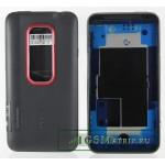 Корпус HTC Evo 3D Черный с красной рамкой