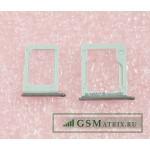 Контейнер SIM+MicroSD Samsung E500H (комплект 2 шт.) Серебро