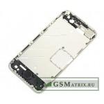 Средняя часть корпуса iPhone 4 Серебро