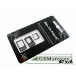 Набор адаптеров SIM/NanoSIM/MicroSIM