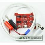 Кабель зарядки АКБ iPhone 4/5/6.. от стандартного ИП (для зарядки батареи)