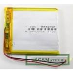 АКБ универсальная 3555140p 3,7v Li-Pol 3200 mAh (3.5*55*140 mm)