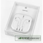 Гарнитура блистер iPhone 5 Белая