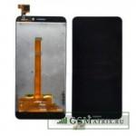 Дисплей Alcatel OT-6012D/OT-6012X (Idol Mini) в сборе с тачскрином Черный