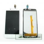 Дисплей Alcatel OT-6016X/OT-6016D/OT-6014X (Idol 2 Mini/Idol 2 Mini L) в сборе с тачскрином Черный