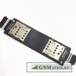 Шлейф Asus ZenFone 5 (A501CG) на разъем SIM