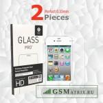 Защитная пленка iPhone 4/4S (комплект на обе стороны)