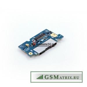 Шлейф Samsung P6800 плата системный разъем/микрофон