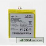 АКБ Alcatel TLp017A2 ( OT-6012X/OT-6012D/OT-6014X/OT-6015X/OT-6016X/OT-6016D ) тех. упак.