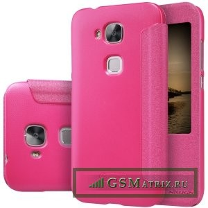 Кейс NILLKIN для Huawei Ascend G8 - Красный